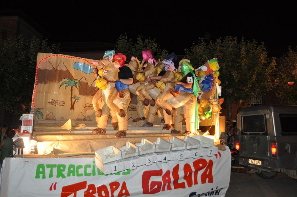 Carrozas Fiestas 2014