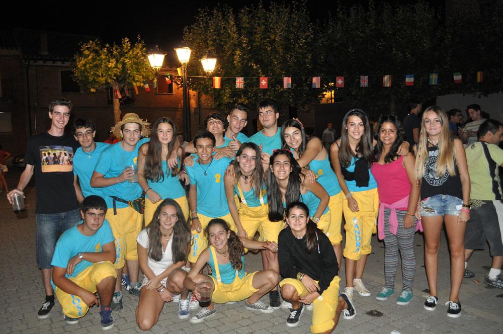 Peñas Fiestas 2014