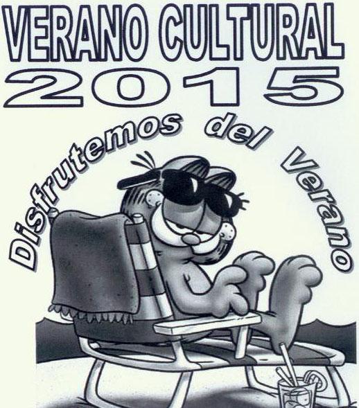 VERANO CULTURAL 2015 «DISFRUTEMOS DEL VERANO»