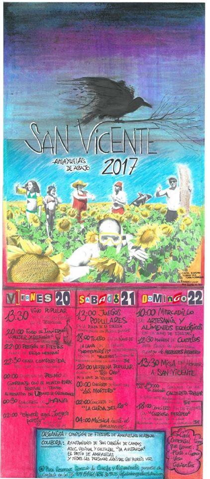 Fiestas de San Vicente 2017 en Amayuelas de Abajo