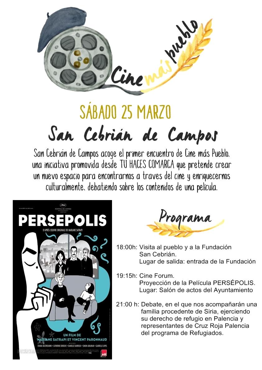 Cine Mas Pueblo en San Cebrián de Campos