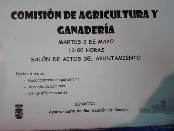 Comisión de Agricultura y ganadería