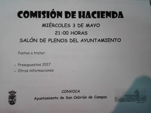 Comision de hacienda