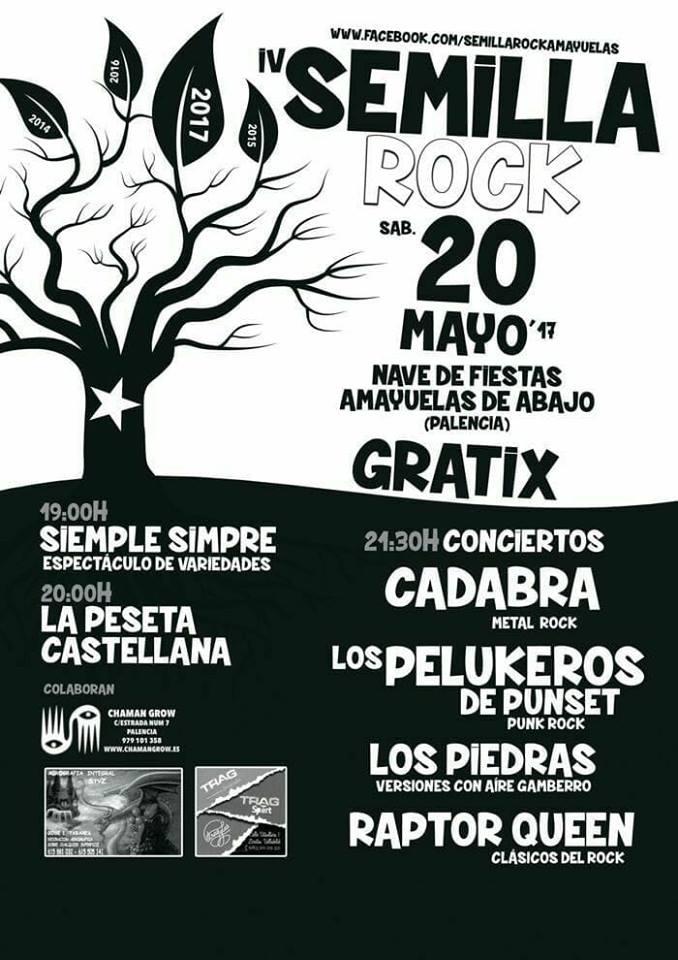 Semilla Rock 2017 en Amayuelas de Abajo