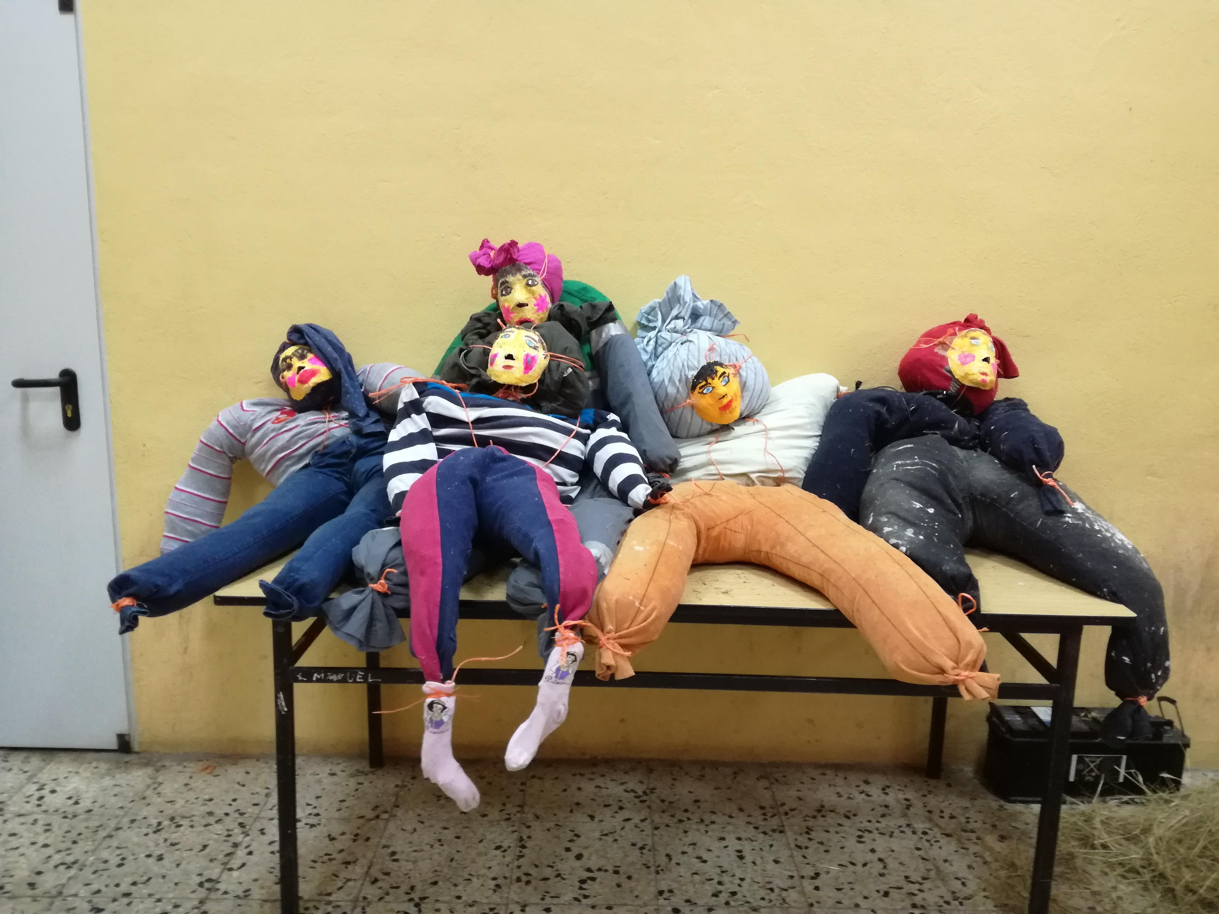 Taller de muñecos de San Roque verano 2017