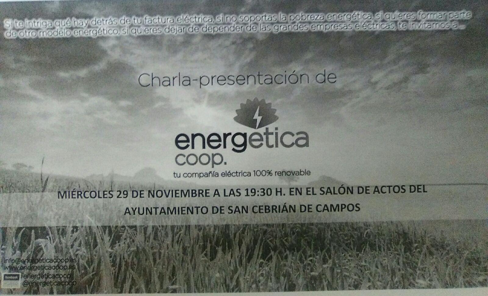 Charla sobre Energía ética-29 Nov.