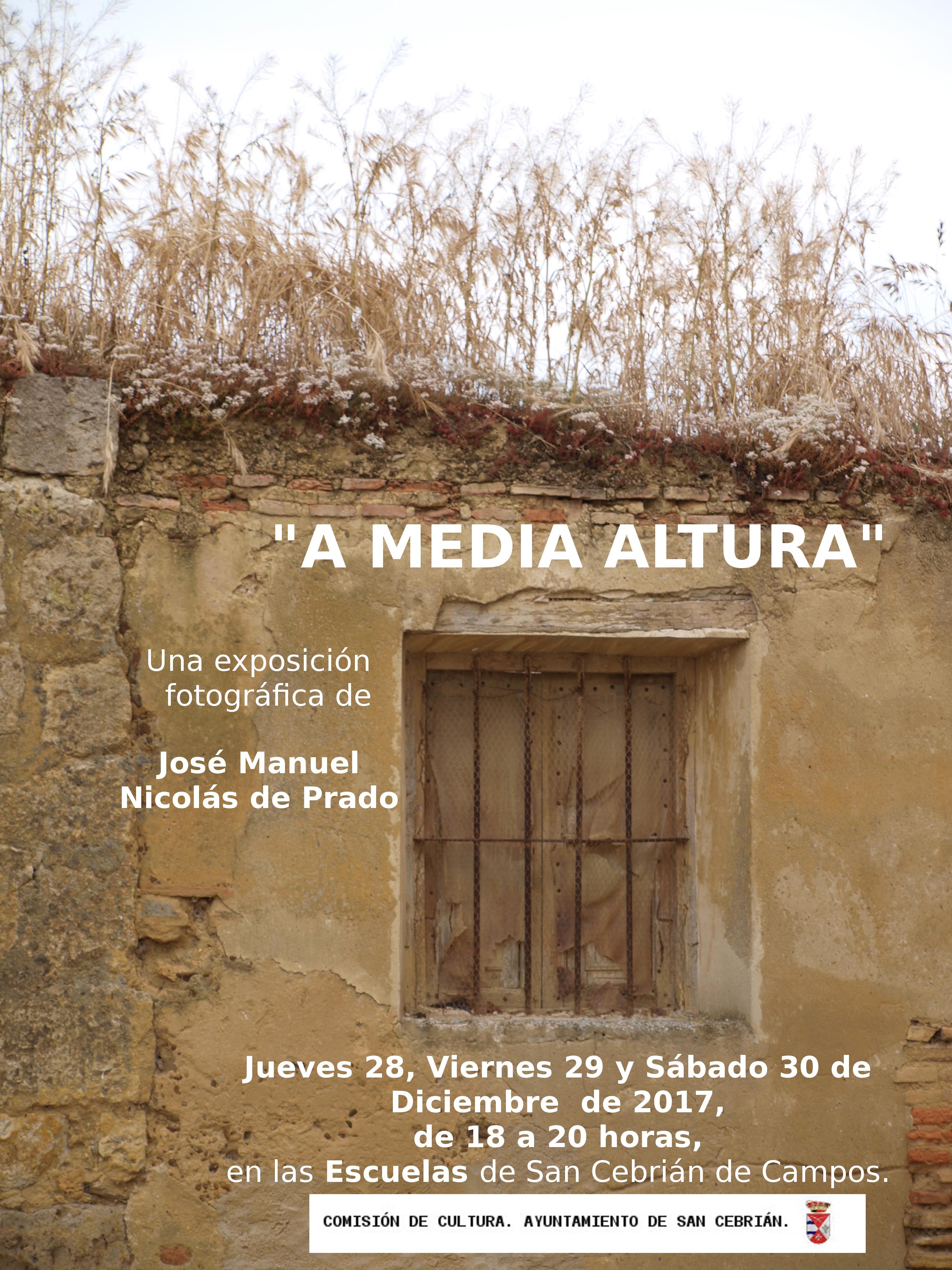 Exposición fotográfica de José M. Nicolás de Prado.