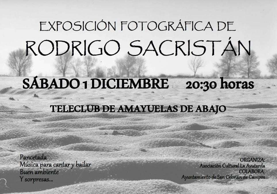 Próxima exposición fotográfica en Amayuelas de Abajo
