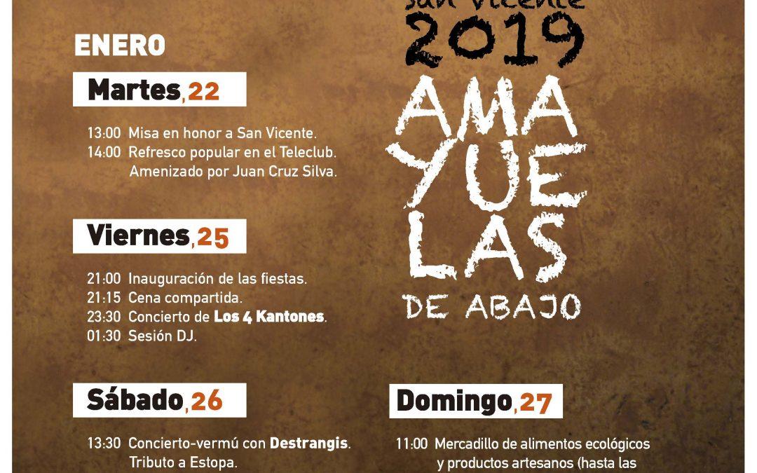 Fiestas de San Vicente 2019