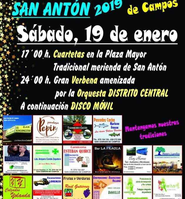 Fiesta de San Antón 2019