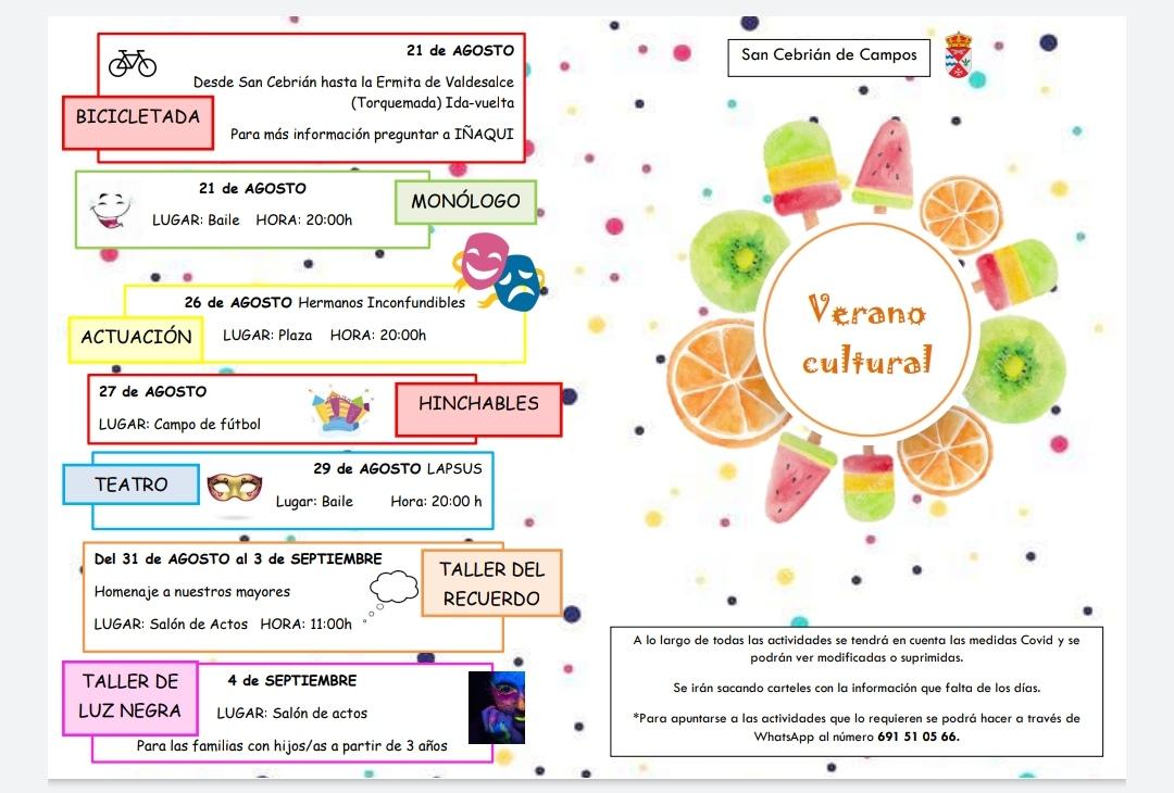 Actividad Cultural 2021